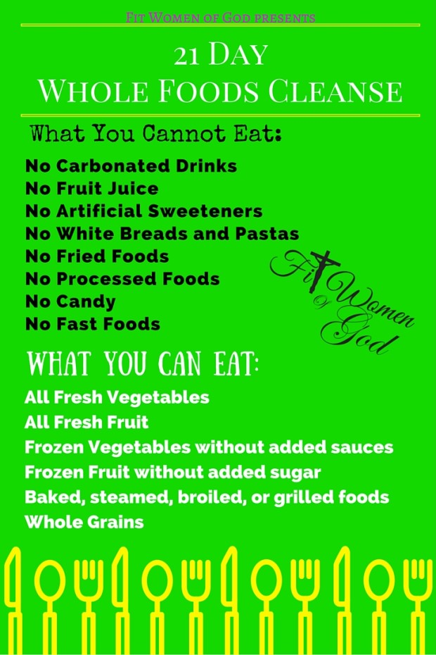 21 Day Cleanse Challenge