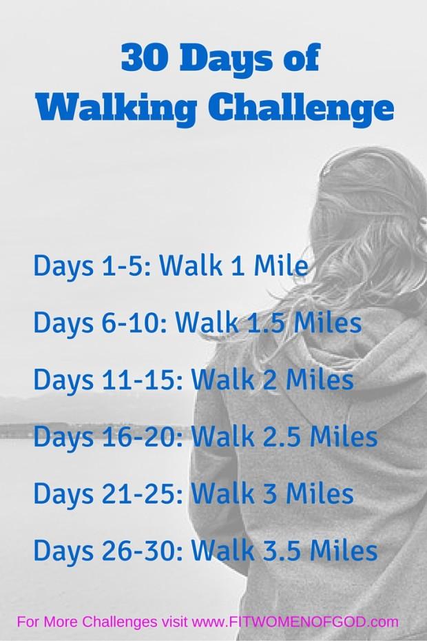 30 Days of Walking Challenge
