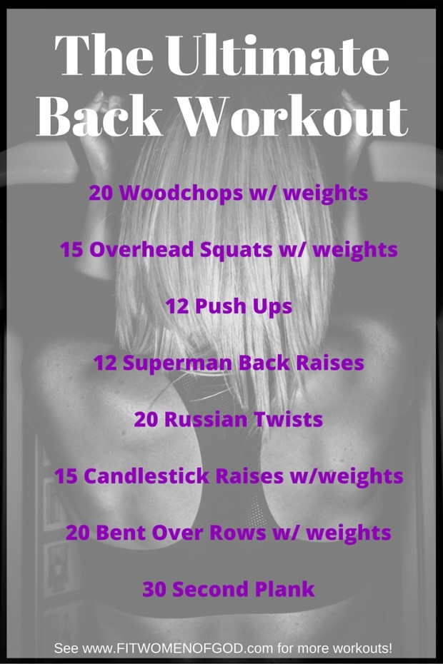 Ultimate Back Workout